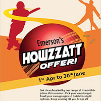 Emerson Introduces 'Howzzatt Offer' for Partners
