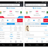 UC Browser Unveils All-In-One Cricket Application