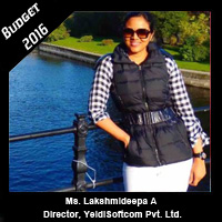 Post Budget Expectations From Ms. Lakshmideepa A, Director, YeldiSoftcom Pvt. Ltd.