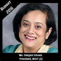 Post Budget Expectations From Ms Debjani Ghosh, President, MAIT