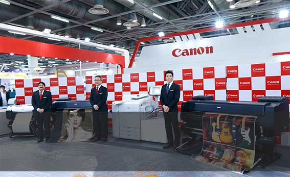 Canon India Launches 10Large Format Printers at Print Pack