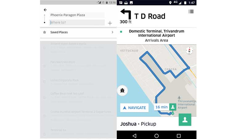 Uber Introduces In-app Chat & Multi-Destination in India