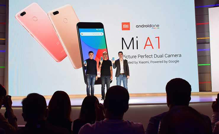 Xiaomi Launches Mi A1 Smartphone with Dual Camera