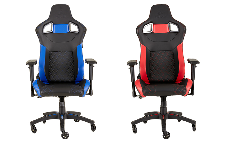 Amazing Corsair Launches New T2 Road Warrior Gaming Chair Camellatalisay Diy Chair Ideas Camellatalisaycom