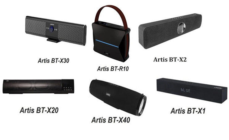 Artis Expands Its Wireless Range With 6 New Bluetooth Bar Speakers
