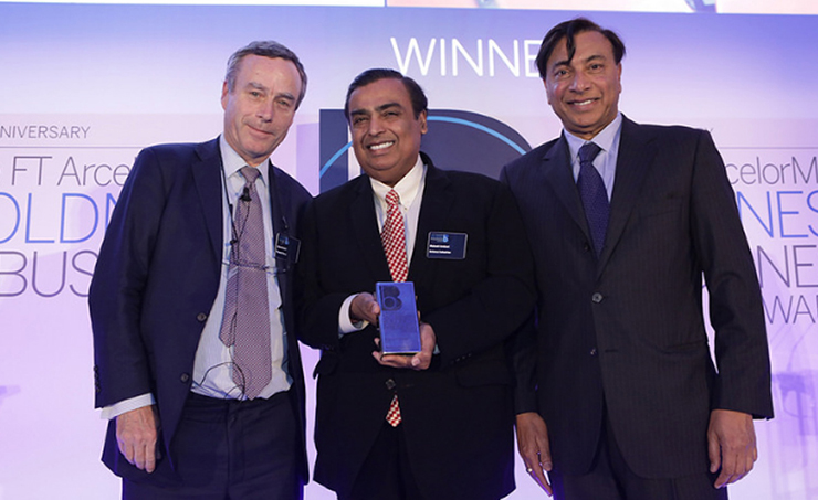 Reliance Industries Wins Drivers of Change Award