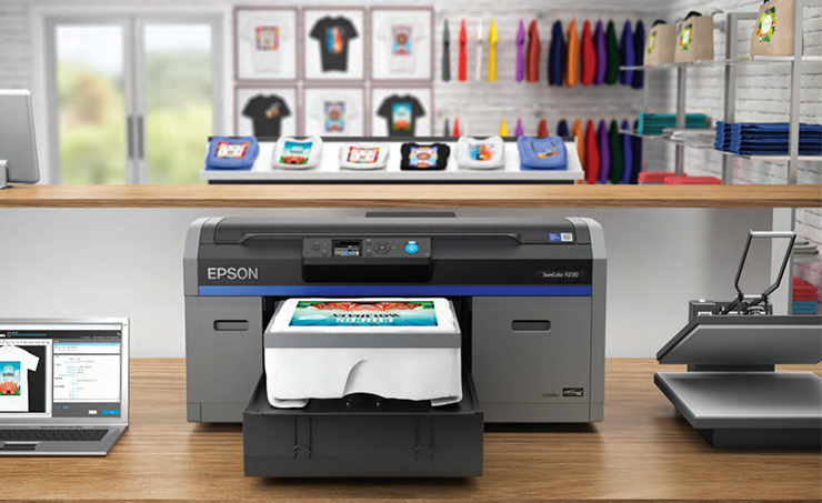 Epson Unleashes New SureColor F2130 Direct-to-Garment (DTG) Printer