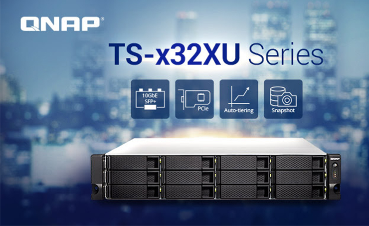 QNAP Renews Its Versatile SMB Entry Rackmount NAS Series with the TS