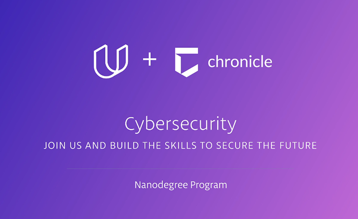 Udacity Partners with Chronicle to Launch Cybersecurity