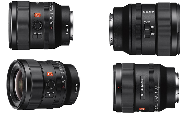 Sony Boosts Full-Frame Lens Line-up Offering with Launch of 24mm F1 ...