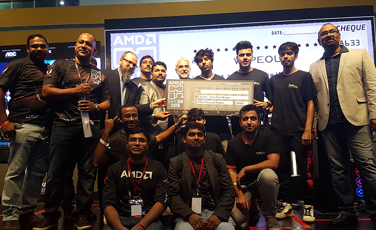 Amd Successfully Hosted Gameon 2018 Gaming Event In Hyderabad