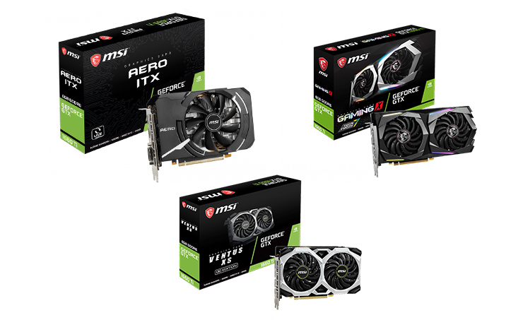 MSI Launches New GeForce® GTX 1660 Ti Series Graphics Cards