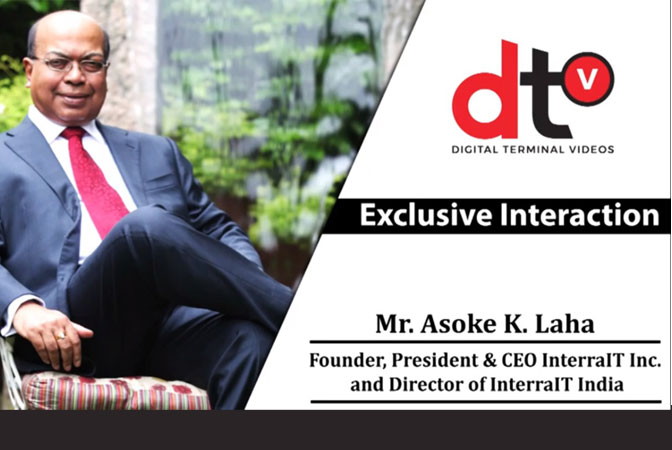 Exclusive Interaction with Mr. Asoke K. Laha,