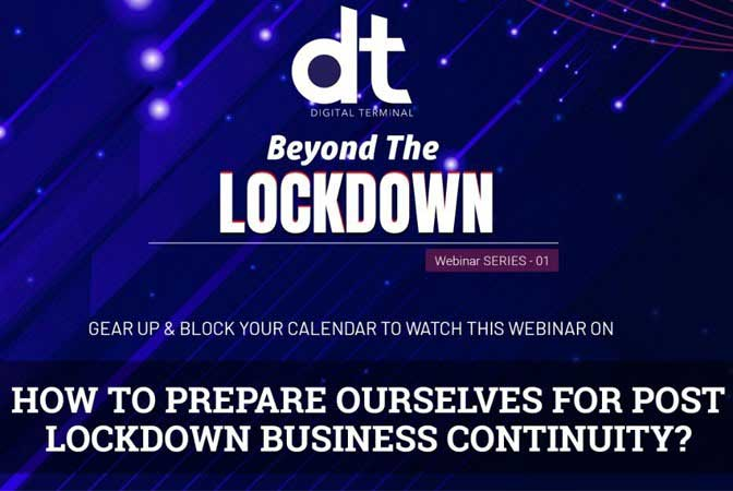 DT Webinar on Challenges & Opportunity For Te